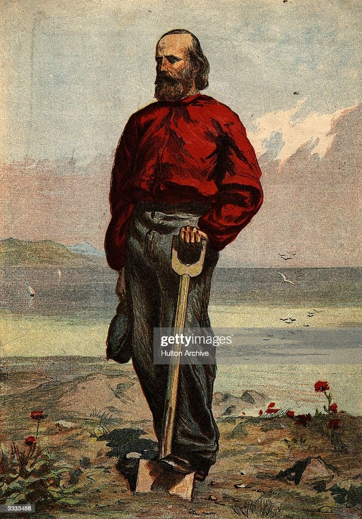 Giuseppe Garibaldi (1807 - 1882) Italian soldier who played a significant role in the unification of Italy by conquering Sicily and Naples in 1860. He served in the Austrian war of 1866 and also fought for France in the Franco-Prussian War of 1870-1.
