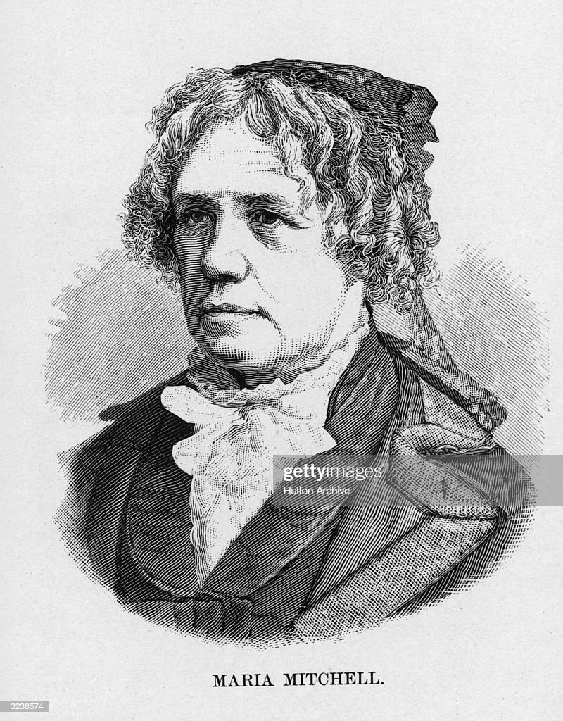 Maria Mitchell (1818-1889). American astronomer. She was taught early in her life by her father, afterwards, self-educated, the first to establish the orbit of a new comet using a telescope,1847, first woman admitted to the Academy of Arts and Sciences, professor of astronomy at Vassar College 1865-1888, led the Woman's Congress of 1875, a crater on the moon is named for her.