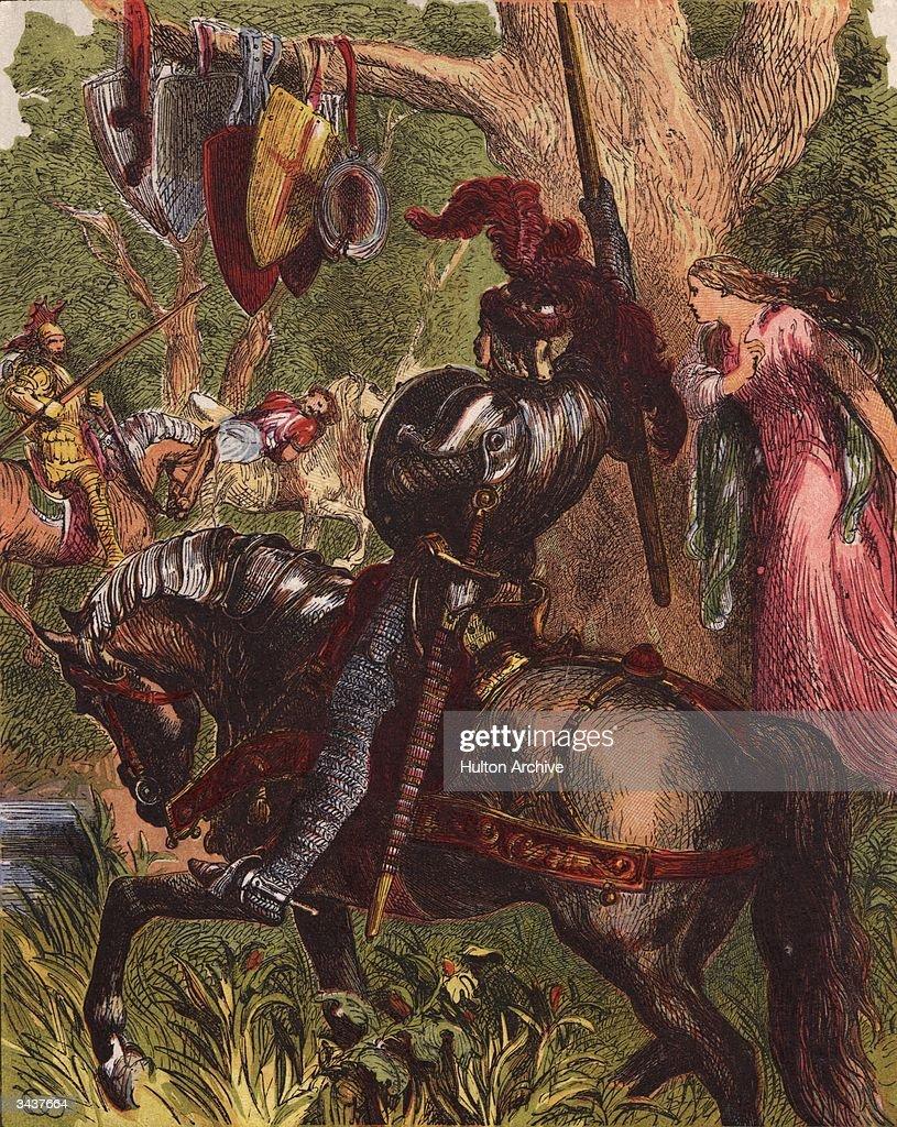king arthur british legend stock illustrations and cartoons