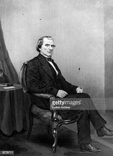Andrew Johnson 17th President of the USA He became involved in a feud with the Radical Republicans over his conciliatory policy to the defeated South...