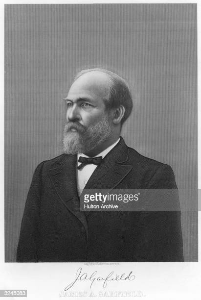 American president James Abram Garfield served in Civil War 186163 fought at Shiloh 1862 and Chickamauga 1863 in United States House of...