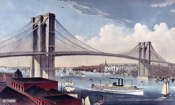 happy birthday brooklyn bridge photos and images getty images. Black Bedroom Furniture Sets. Home Design Ideas