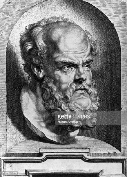 Circa 430 BC Greek philosopher Socrates