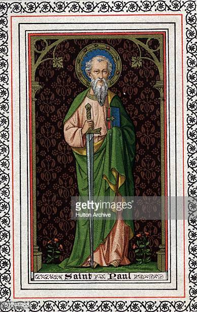 Circa 60 AD Saint Paul also known as Paul of Tarsus Apostle to the Gentiles