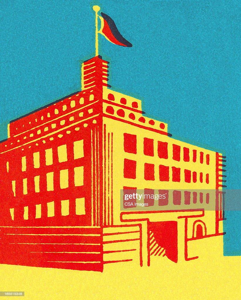 City Building : Stock Illustration
