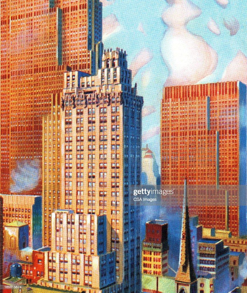 Cityscape : Stock Illustration