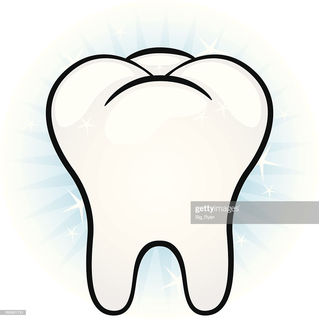 clean tooth vector art getty images