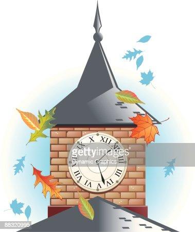 Turmuhr clipart  Clock Tower Vektorgrafik | Thinkstock