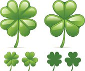 4 and 3 leaf clover.