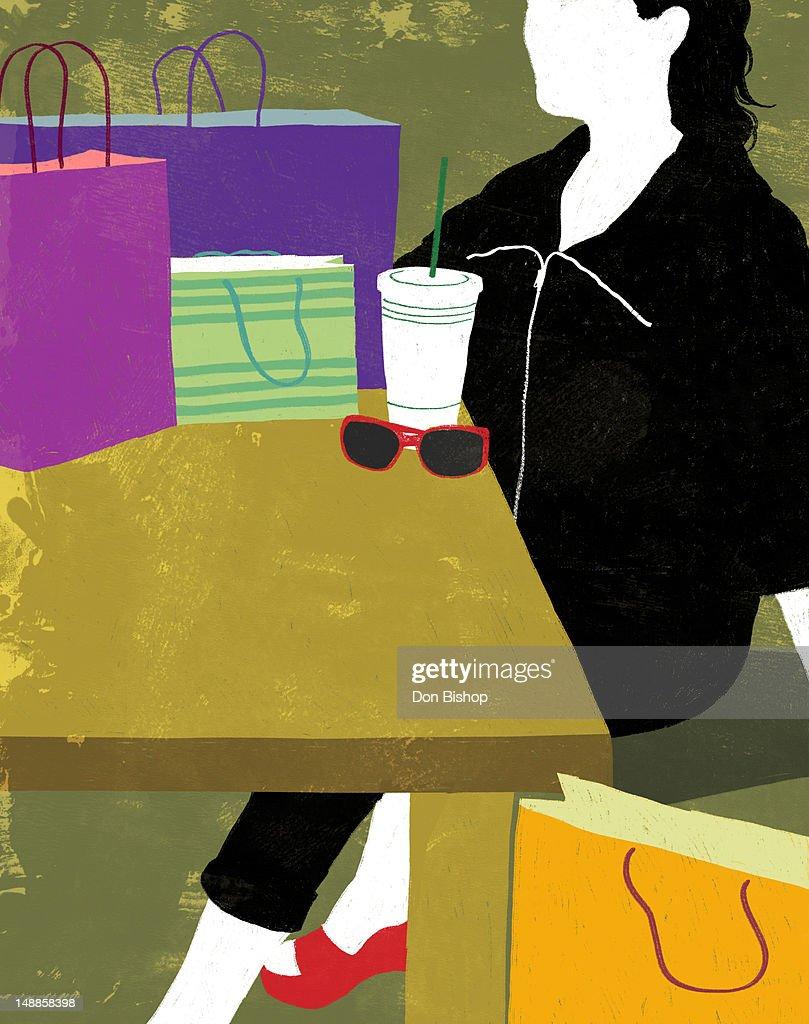 Coffee Time : Stock Illustration