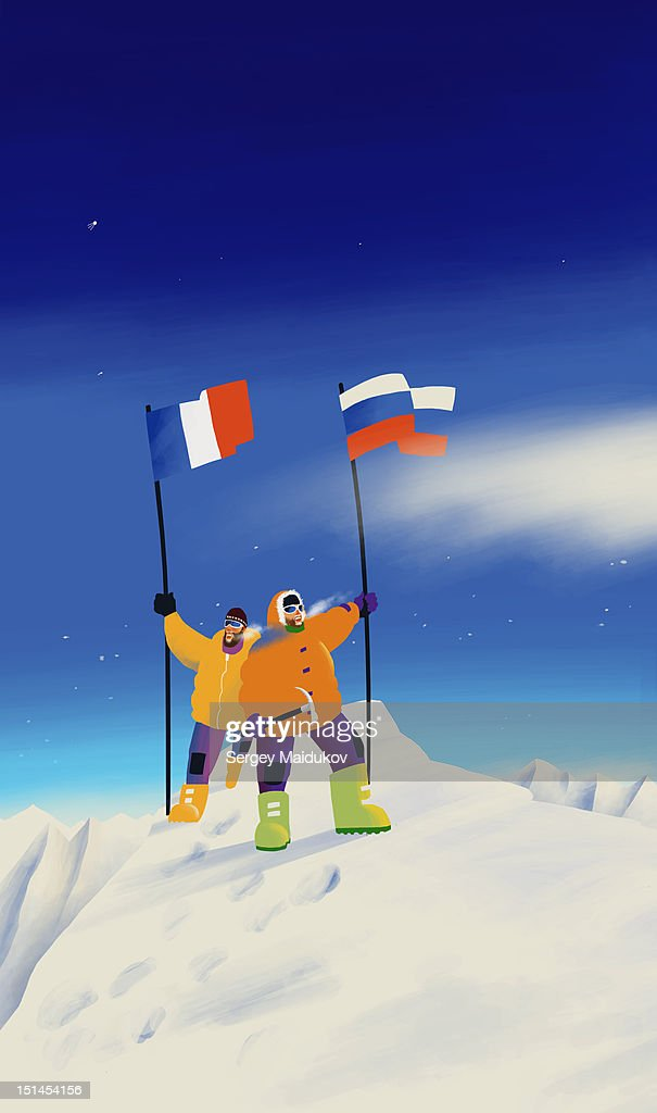 Cold top : Stock Illustration