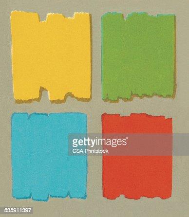 De bloque de Color patrón : Ilustración de stock
