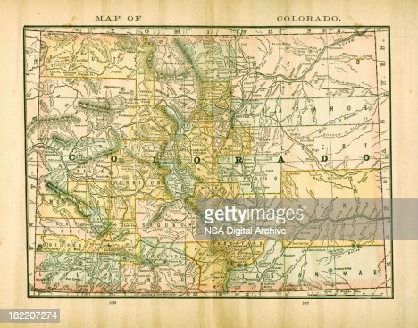 Arizona Usa Antique Maps High Resolution Stock Illustration - Usa map high resolution