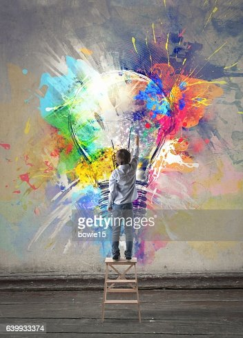 Colorful imagination : Stock Illustration