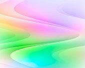 Colorful Wave, Illustration
