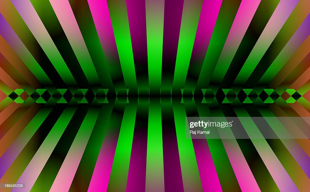 Coloured Glowing Stripes design. : Stock Illustration