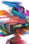 colourful abstract painting texture