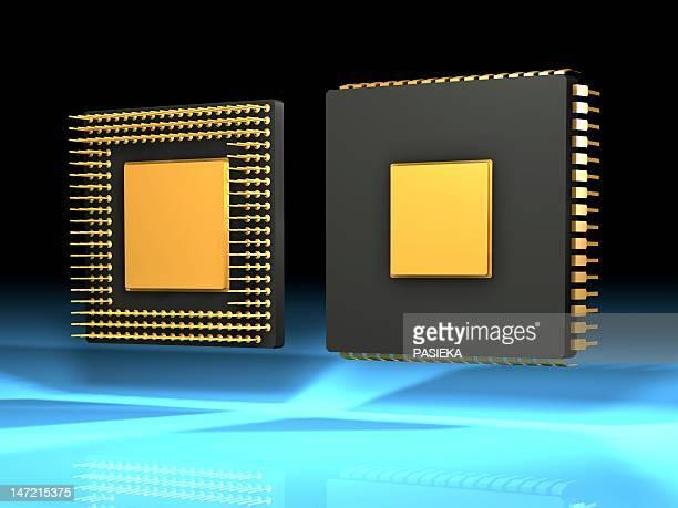 Computer chip, artwork