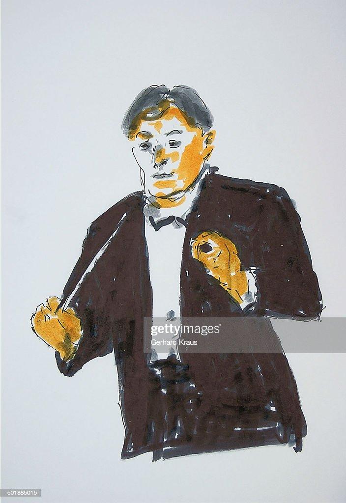 Conductor, illustration : Stock Illustration