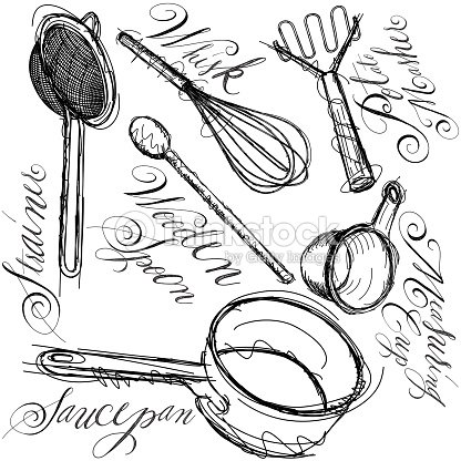 Home Economics Kitchen Utensils