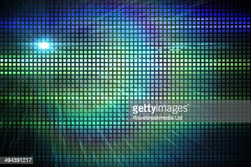 Cool disco background : Stock Illustration