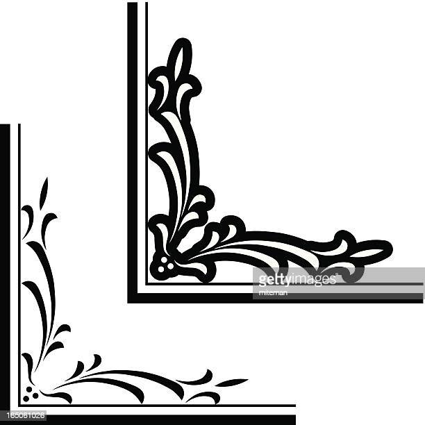 Corner template