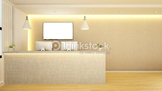counter reception design ストックイラストレーション thinkstock