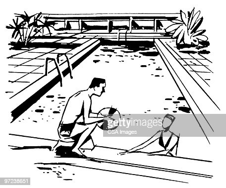 Swimming Pool Stock Illustration Getty Images