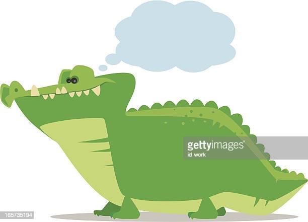 crocodile thinking
