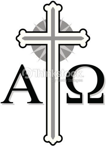 Cross With Alpha And Omega Symbols Vector Art Thinkstock