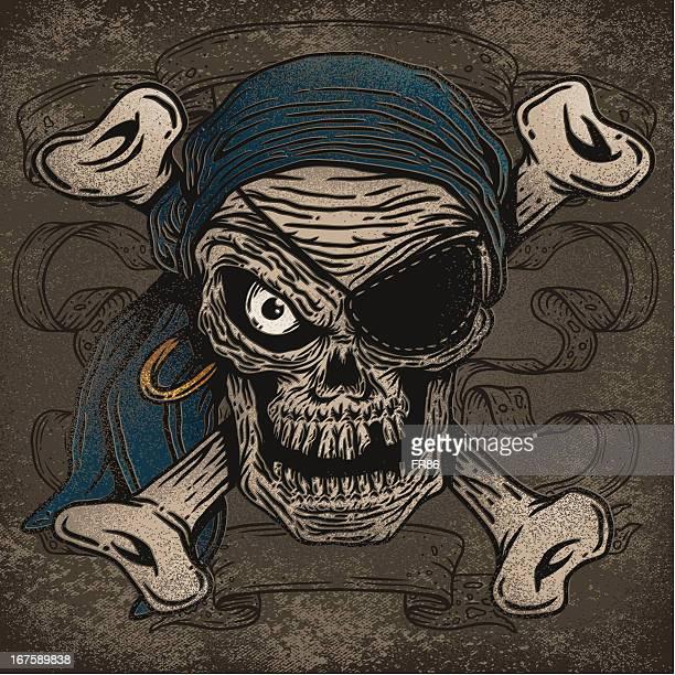 Crossbones Pirate Skull