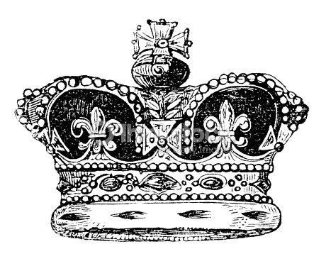 Crown of England : Stock Illustration