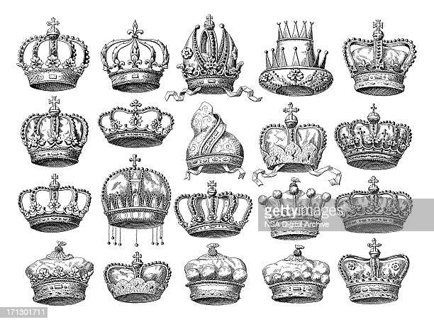 Crown Set | Historic Symbols of Monarchy and Rank