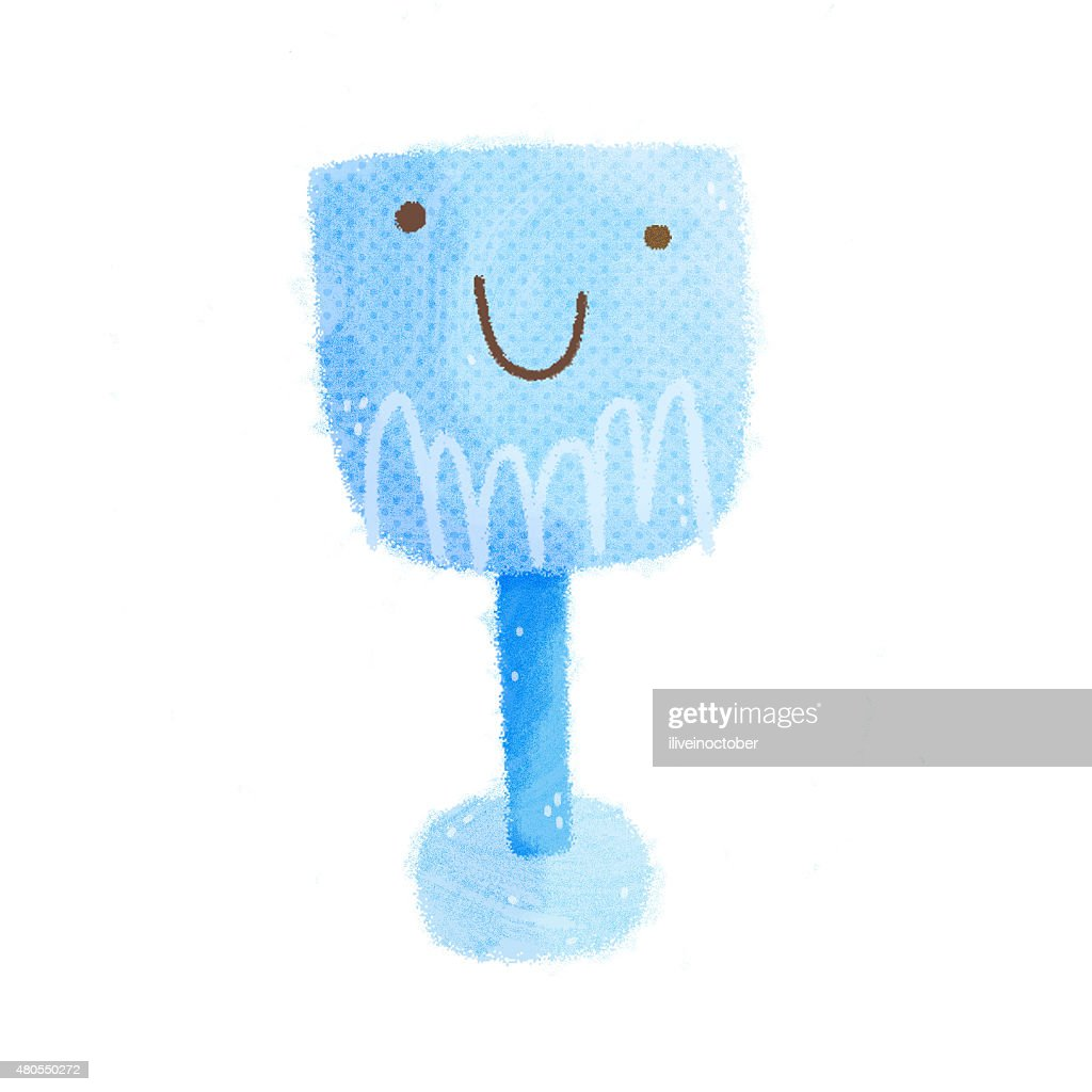 Cute cartoon character : Stock Illustration