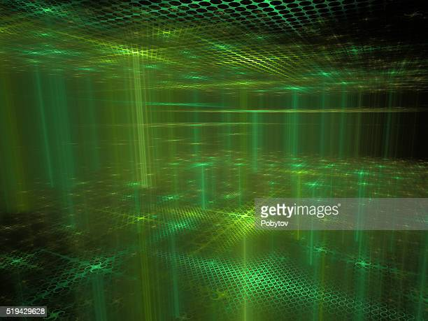 Cyber Space - Abstract Futuristic Background