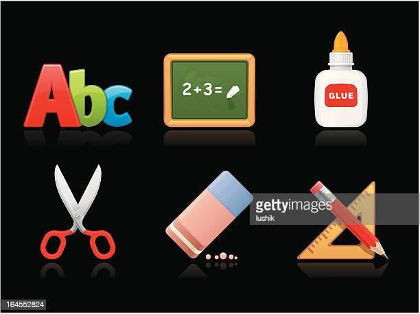 Dark collection - School supplies