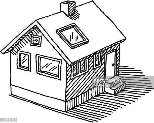 Casa independiente dibujo