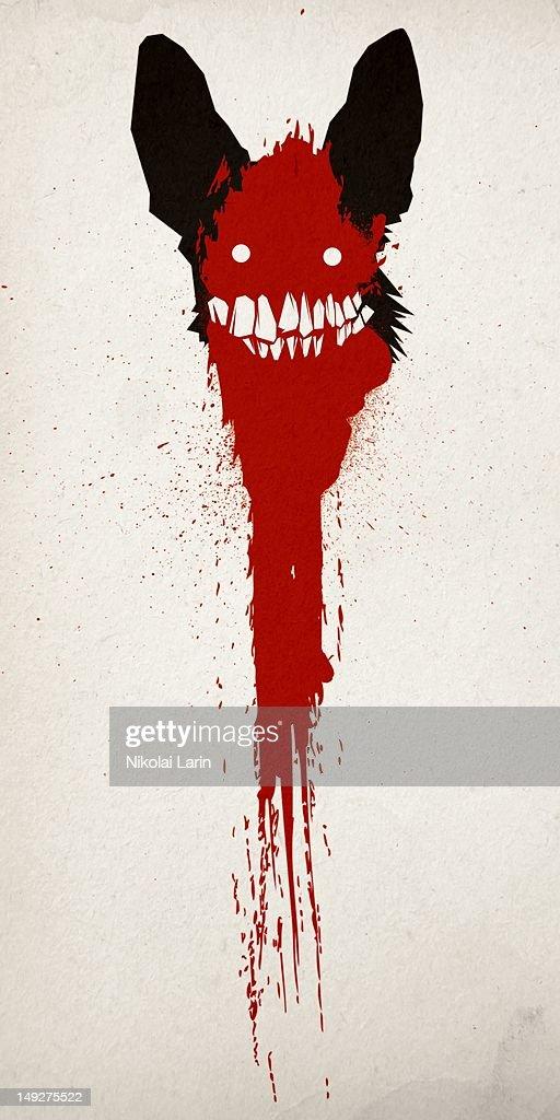 A devilish creature : Stock Illustration