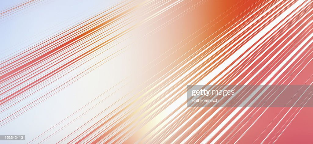 Diagonal lines and colored light : Stock Illustration