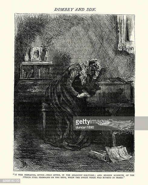 Dickens's Dombey and Son - The shadowy soliture