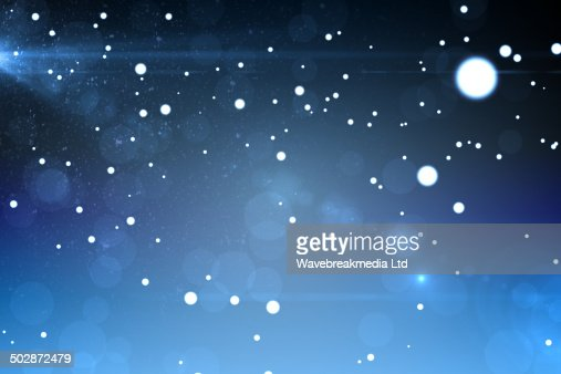 Starry dark blue night sky : Stock Illustration