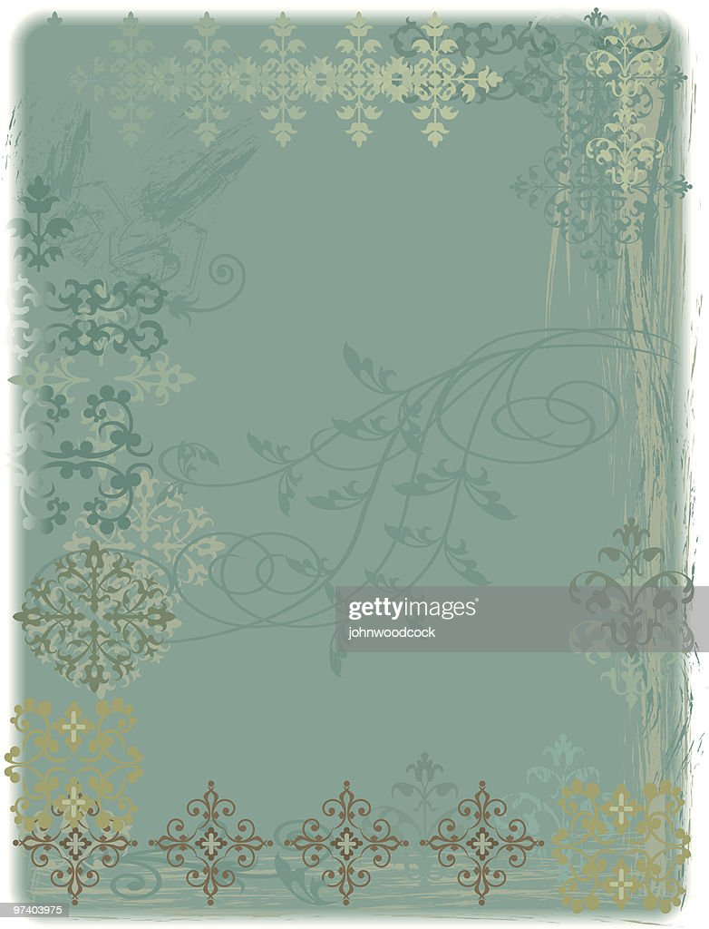 Distressed shabby background : Vector Art