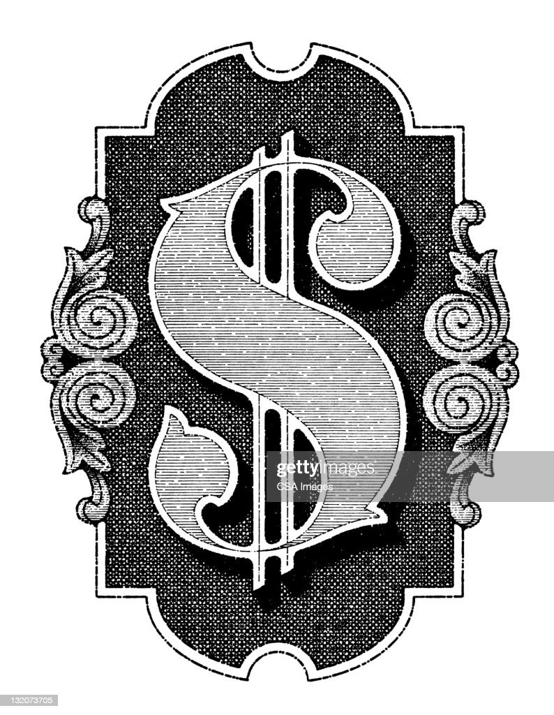 Dollar Sign : Stock Illustration
