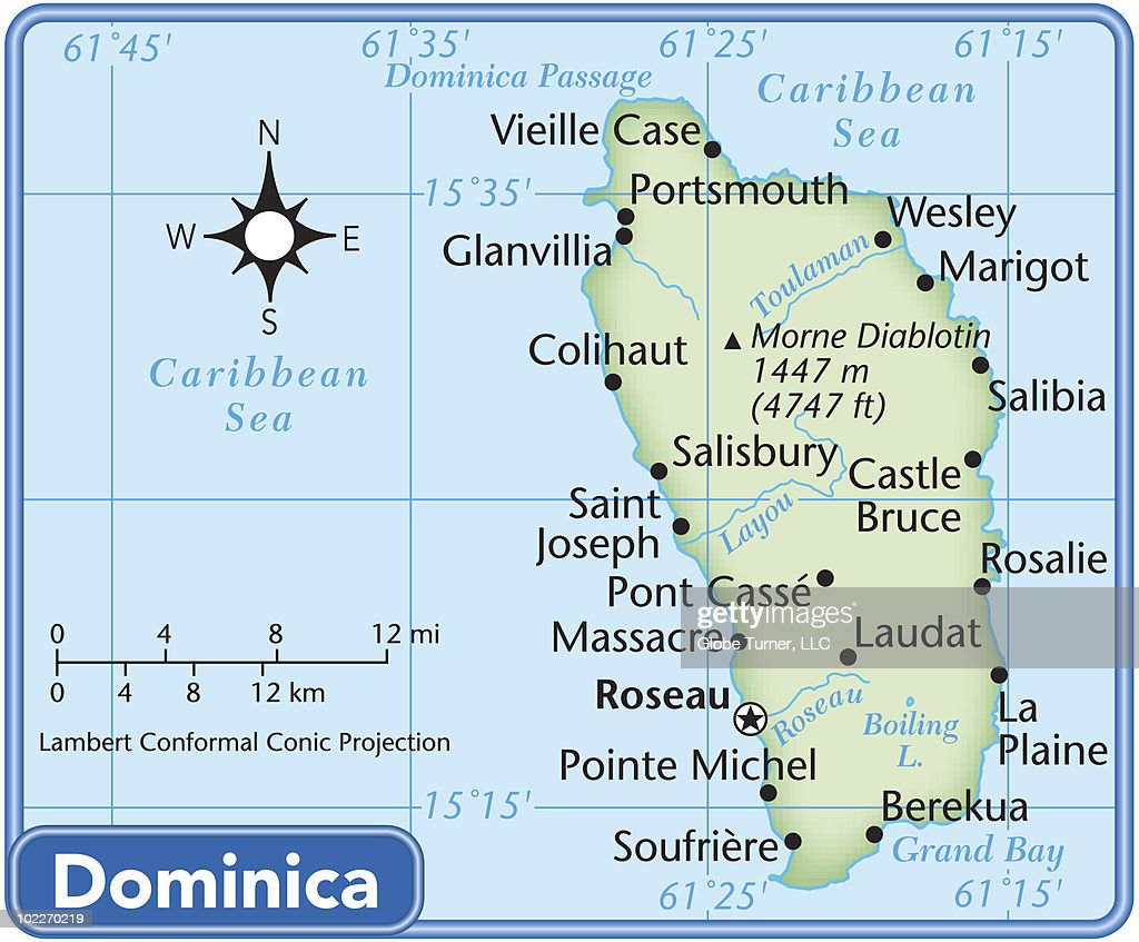 an overview of the geography of dominica a caribbean country Included are selected statistics, an overview map and the detailed map of dominica geography of dominica the location of this country is caribbean.