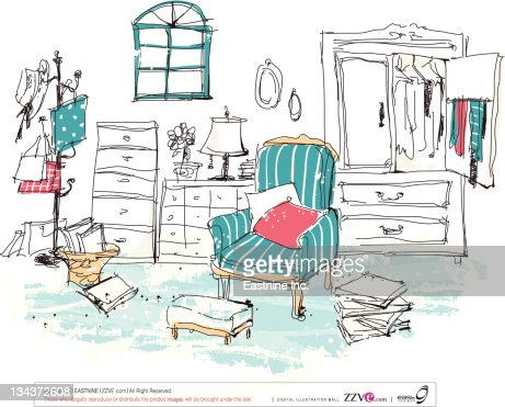 Clothes Room Clip Art Showroom Vector Getty Images