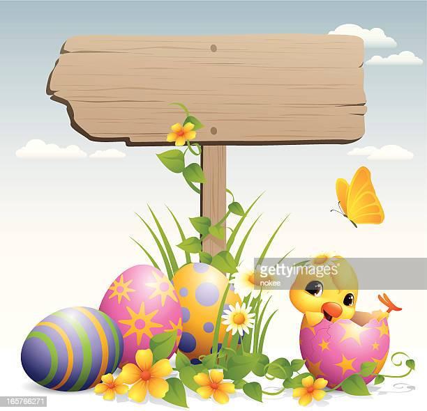 Easter Egg - road sign