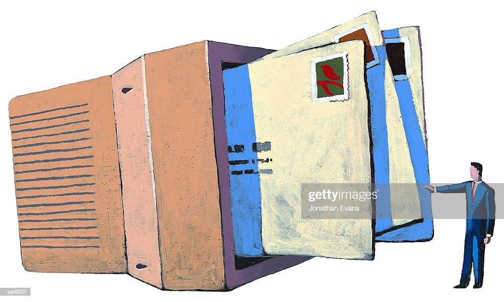 Electronic Mail : Stock Illustration