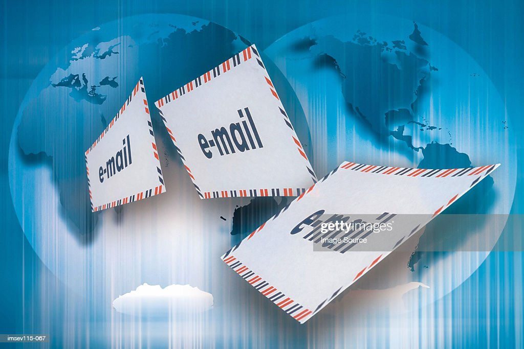 E-mails : Stock Illustration