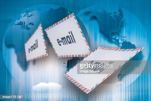 E-mails : Stock Illustration