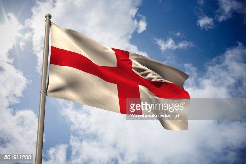 England national flag : Stock Illustration